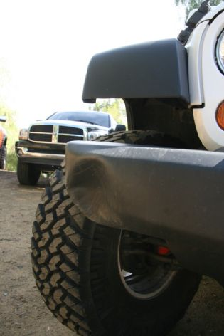 Jeep plastic bumper repair